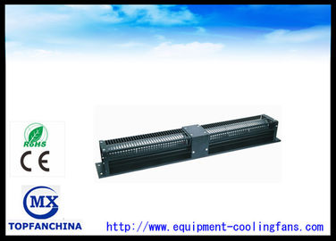 China fã 220V/motor industrial do fluxo transversal da indução do capacitor do × 98mm do × 99mm de 760mm distribuidor